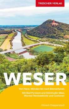 Hinnerk Dreppenstedt: Reiseführer Weser, Buch