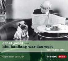 Ernst Jandl: him hanflang war das wort, CD
