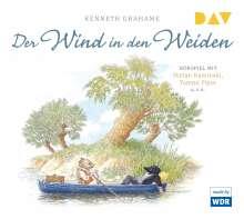 Kenneth Grahame: Der Wind in den Weiden, 3 CDs