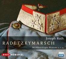 Joseph Roth: Radetzkymarsch, 3 CDs