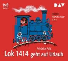 Friedrich Feld: Lok 1414 geht auf Urlaub, CD