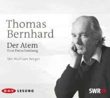 Thomas Bernhard: Der Atem, 3 CDs