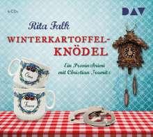 Rita Falk: Winterkartoffelknödel, 4 CDs