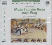 Mozart auf der Reise nach Prag, 3 Audio-CDs, 3 CDs