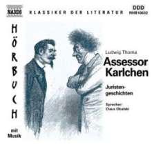 Thoma,Ludwig:Assessor Karlchen, CD