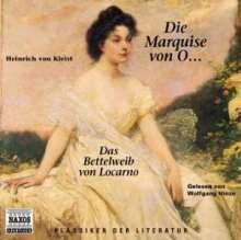 Kleist,Heinrich von:Die Marquise von O..., 2 CDs