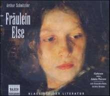 Schnitzler,Arthur:Fräulein Else, 3 CDs