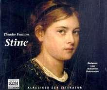 Fontane,Theodor:Stine, 3 CDs
