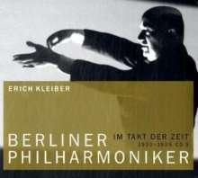 Erich Kleiber dirigiert die Berliner Philharmoniker, CD