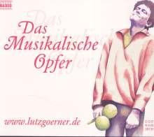 Lutz Görner - J.S.Bach - Das Musikalische Opfer, 2 CDs