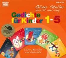 Gedichte für Kinder 1-5, 5 CDs