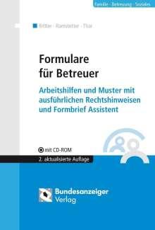 Michael Ramstetter: Formulare für Betreuer, Buch