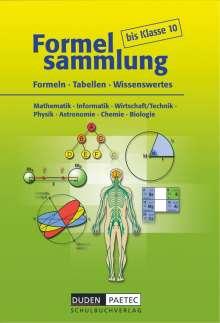 Uwe Bahro: Formelsammlung bis Klasse 10, Buch