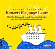 Leonard Bernstein (1918-1990): Konzert für junge Leute. 2 CDs, CD