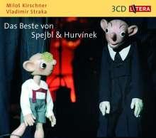 Das Beste von Spejbl und Hurvinek. 3 CDs, CD