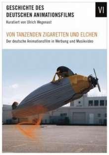 Von tanzenden Zigaretten und Elchen: Deutsche Animationsfilm, DVD