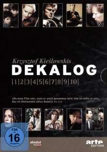 Dekalog 1-10, 6 DVDs