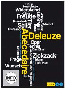 Abecedaire - Gilles Deleuze von A bis Z, 3 DVDs