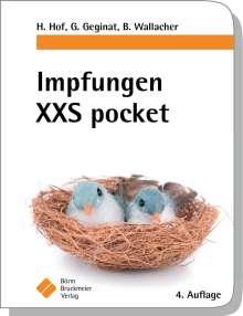 Herbert Hof: Impfungen XXS pocket, Buch