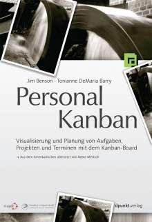 Jim Benson: Personal Kanban, Buch