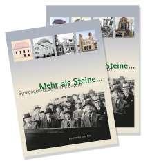 Mehr als Steine ... Synagogen-Gedenkband Bayern, Buch