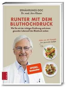 Jörn Klasen: Runter mit dem Bluthochdruck, Buch