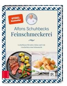 Alfons Schuhbeck: Schuhbecks Feinschmeckerei, Buch