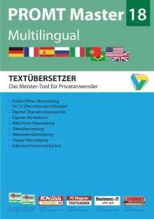 PROMT Master 18 Multilingual, DVD-ROM