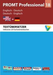 PROMT Professional 18 Englisch-Deutsch, DVD-ROM