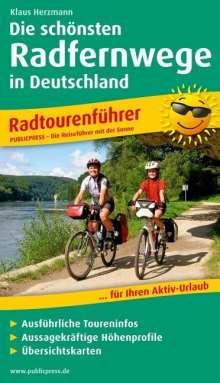 Die 20 schönsten Radfernwege Deutschlands, Buch