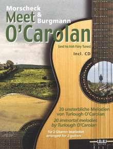 Peter Morscheck: Morscheck & Burgmann meet O'Carolan, Buch