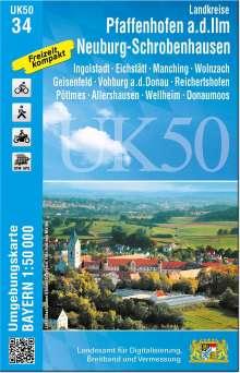Pfaffenhofen - Schrobenhausen 1 : 50 000 (UK50-34), Diverse