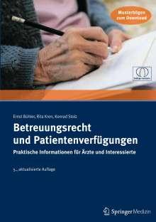 Ernst Bühler: Betreuungsrecht und Patientenverfügungen, Buch