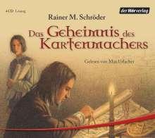 Rainer Maria Schröder: Das Geheimnis des Kartenmachers. 4 CDs, CD