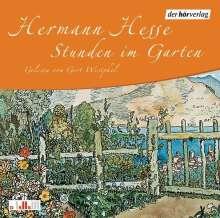 Hermann Hesse: Stunden im Garten. CD, CD