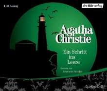 Agatha Christie: Der Schritt ins Leere. 3 CDs, CD