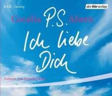 Cecelia Ahern: P.S. Ich liebe Dich. Sonderausgabe. 4 CDs, CD