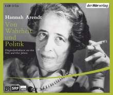 Hannah Arendt: Von Wahrheit und Politik. 5 CDs, CD