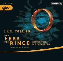 Herr der Ringe. Die Gefährten. 2 MP3-CDs, 2 MP3-CDs