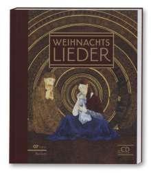 Verschiedene (s. Einzeltitel): Weihnachtslieder-Buch - Liederbuch inkl. Mitsing-CD, Noten