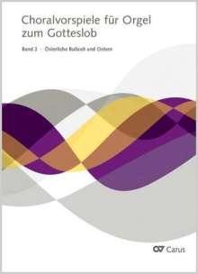 Choralvorspiele zum Gotteslob, Band 02: Österliche Bußzeit und Ostern, Noten