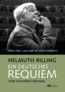 Helmuth Rilling: Ein Deutsches Requiem von Johannes Brahms, Buch