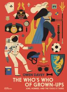 Owen Davey: The Who's Who of Grown-Ups, Buch