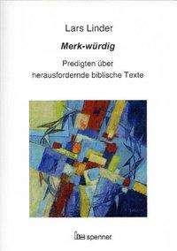 Lars Linder: Merk-würdig, Buch