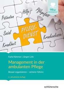 Karla Kämmer: Management in der ambulanten Pflege, Buch