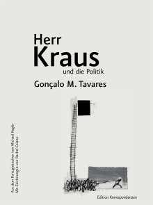 Gonçalo M. Tavares: Herr Kraus und die Politik, Buch