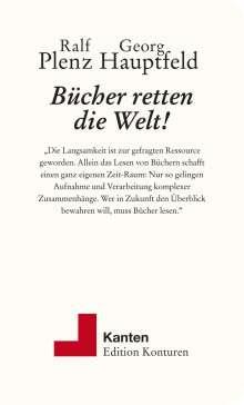 Ralf Plenz: Bücher retten die Welt!, Buch