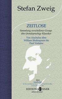 Stefan Zweig: Zeitlose, Buch