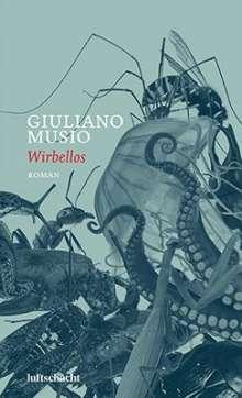 Giuliano Musio: Wirbellos, Buch