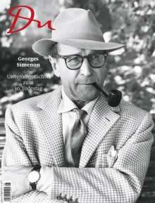 Du896 - das Kulturmagazin. Georges Simenon, Buch